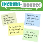 Incrediboard (public recognition poster)